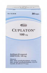 CUPLATON 100 mg kaps, pehmeä 30 kpl