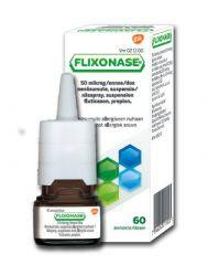 FLIXONASE 50 mikrog/annos nenäsumute, susp 60 annosta